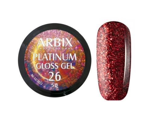 Гель Arbix Platinum Gloss Gel 26