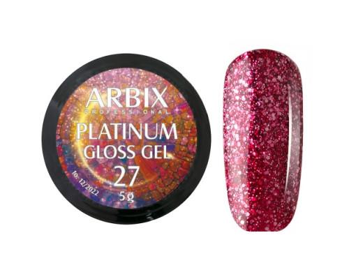 Гель Arbix Platinum Gloss Gel 27