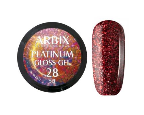 Гель Arbix Platinum Gloss Gel 28