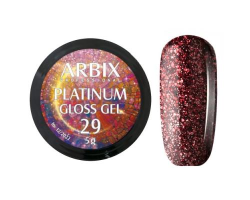 Гель Arbix Platinum Gloss Gel 29