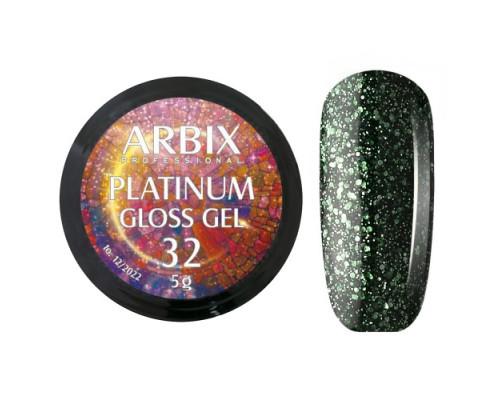 Гель Arbix Platinum Gloss Gel 32