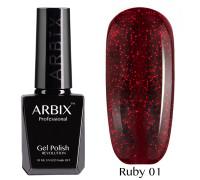 Гель-лак Arbix Ruby 01 Сомберерро