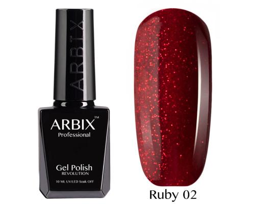 Гель-лак Arbix Ruby 02 Ча-Ча-Ча