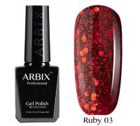 Гель-лак Arbix Ruby 03 Испания