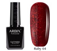 Гель-лак Arbix Ruby 04 Соус Чили