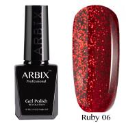Гель-лак Arbix Ruby 06 Красный Песок
