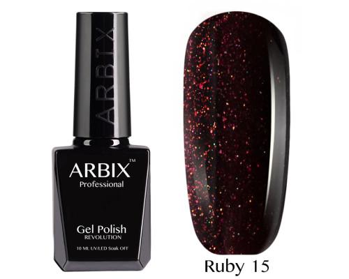 Гель-лак Arbix Ruby 15 Марракеш