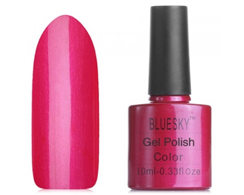 Гель-лак Bluesky Shellac 40507/80507(SE07) Hot Chilis (Красно-малиновый)