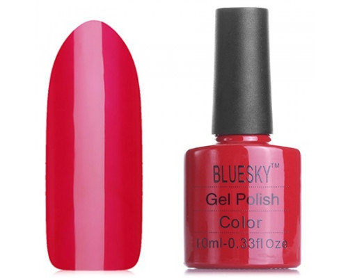 Гель-лак Bluesky Shellac 40508/80508(SE08) WildFire (Классический красный)