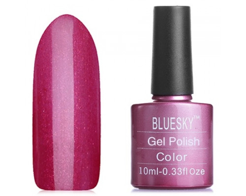 Гель-лак Bluesky Shellac 40509/80509(SE09) Red Baroness (Бордовый)