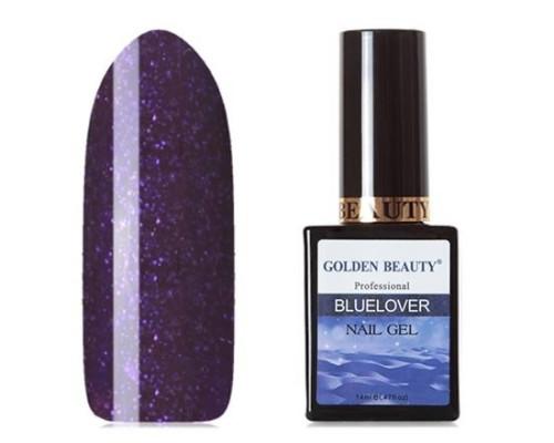 Гель-лак Bluesky Golden Beauty Bluelover №02 (Ярко лилово-фиолетовый)