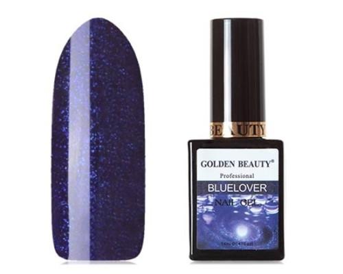 Гель-лак Bluesky Golden Beauty Bluelover №04 (Фиалковый с микроблестками)