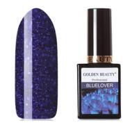 Гель-лак Golden Beauty Bluelover №12 Глубокий синий с блестками