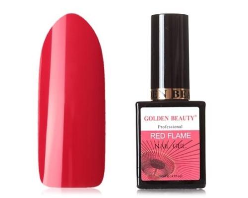 Гель-лак Bluesky Golden Beauty Red Flame №04 (Классический красный)