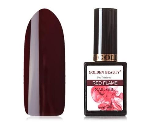 Гель-лак Bluesky Golden Beauty Red Flame №11 (Цвет красного вина)