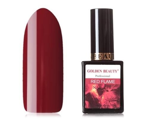 Гель-лак Bluesky Golden Beauty Red Flame №12 (Темно-красный)