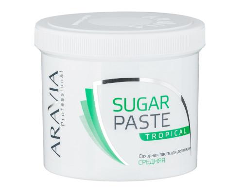 """Сахарная паста для депиляции Aravia """"Tropical"""" Средняя 750 г"""