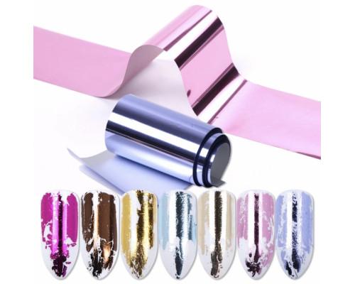 Фольга для дизайна ногтей (Набор 14 шт)