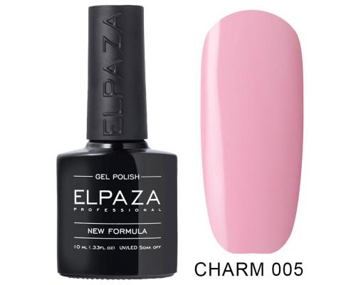Гель-лак Elpaza 005 Charm Влечение (Пастельный розовый)