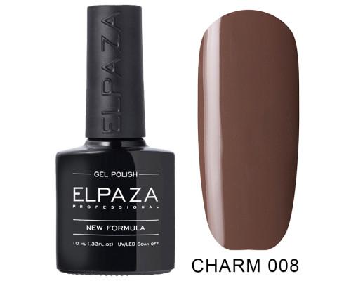 Гель-лак Elpaza 008 Charm Ирис (Серо-коричневый)