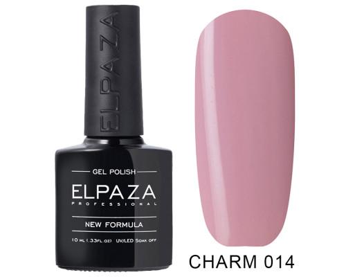 Гель-лак Elpaza 014 Charm Парижанка (Пастельный бежево-розовый)