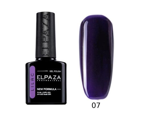 Гель-лак Elpaza 07 Lilac Ультрамарин (Темно-фиолетовый)
