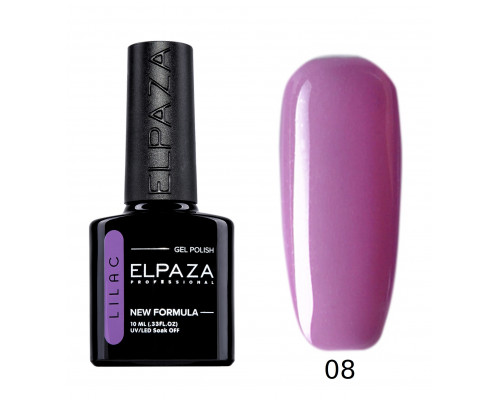 Гель-лак Elpaza 08 Lilac Флоренция (Лиловый)