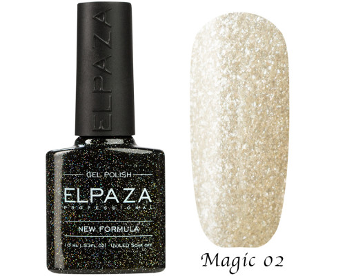 Гель-лак Elpaza 02 Magic Glitter Лапландия