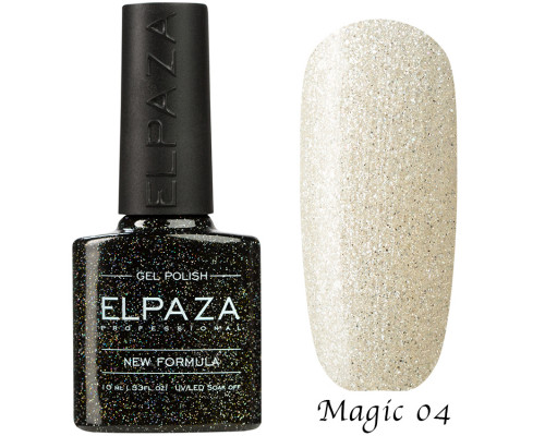 Гель-лак Elpaza 04 Magic Glitter Полярная звезда