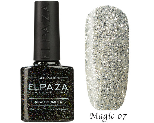 Гель-лак Elpaza 07 Magic Glitter Афина
