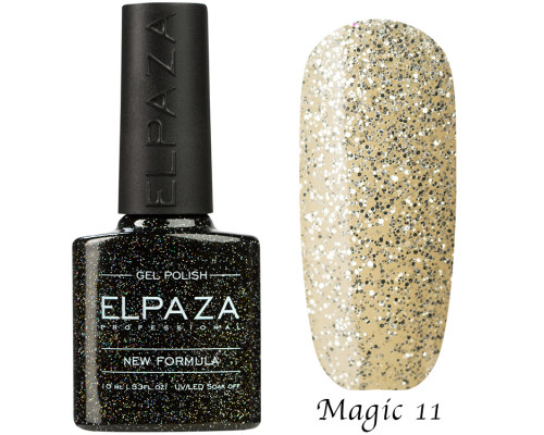 Гель-лак Elpaza 11 Magic Glitter Сахарная крошка