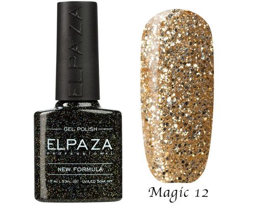 Гель-лак Elpaza 12 Magic Glitter Мечта принцессы
