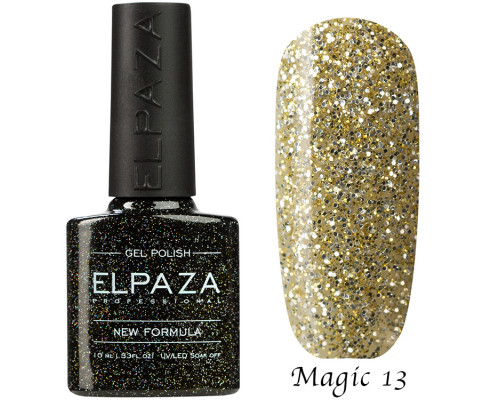 Гель-лак Elpaza 13 Magic Glitter Сфинкс