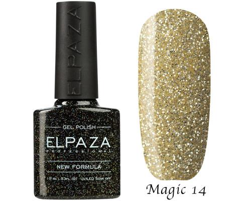 Гель-лак Elpaza 14 Magic Glitter Морозное утро
