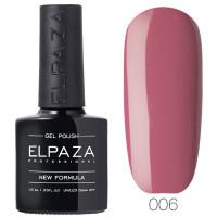 Гель-лак Elpaza 006 Розовый сон (Темно-малиновый)