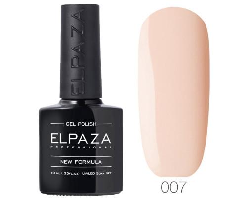 Гель-лак Elpaza 007 Нежность (Розово-бежевый)