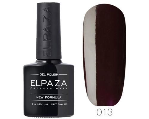 Гель-лак Elpaza 013 Запах дождя (Темно-бордовый)