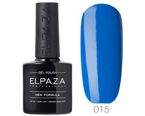 Гель-лак Elpaza 015 Ультрафиолет (Синий)