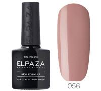 Гель-лак Elpaza 056 Сливочная нуга (Розово-бежевый)