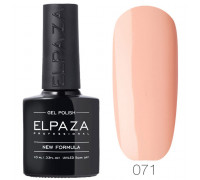 Гель-лак Elpaza 071 Ванильный мусс (Розово-бежевый)