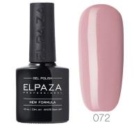 Гель-лак Elpaza 072 Горячий шоколад (Пастельный розовый)