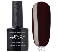 Гель-лак Elpaza 073 Кожаный жакет (Темно-коричневый)