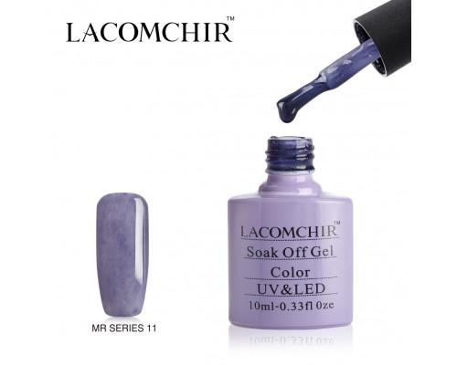 Гель-лак плюшевый Lacomchir MR 11 (Сиреневый)