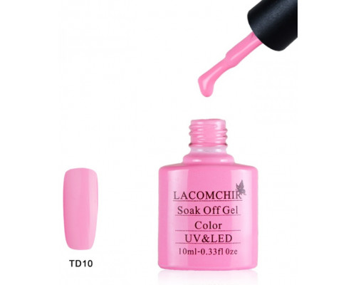 Гель-лак Lacomchir TD 10 (Пурпурно-розовый)