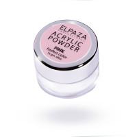 Акриловая пудра Acrylic Powder Elpaza розовая (Pink) 15 г