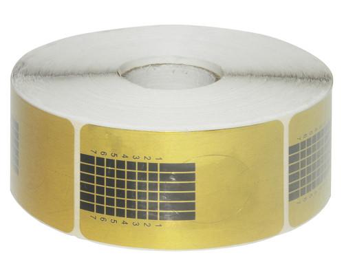 Форма для наращивания узкая золото 500 шт.