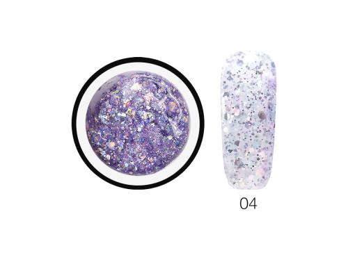 Гель-слюда SH Diamond Gel Opal 04