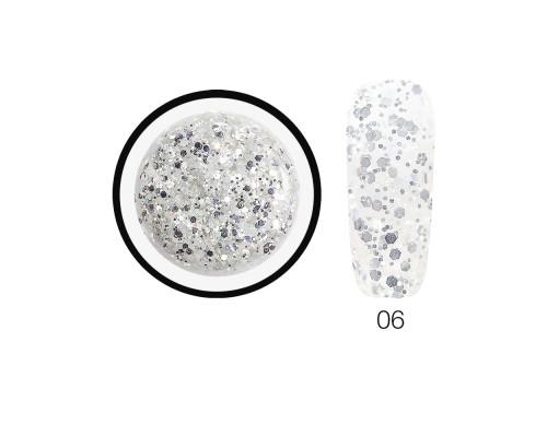 Гель-слюда SH Diamond Gel Opal 06