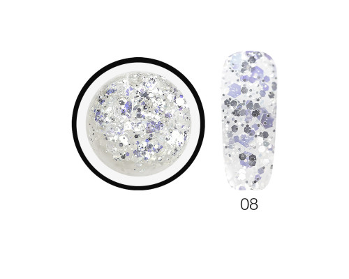 Гель-слюда SH Diamond Gel Opal 08