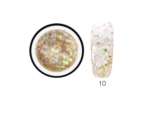 Гель-слюда SH Diamond Gel Opal 10